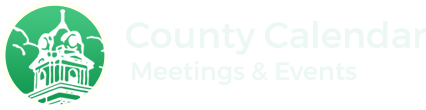 County Calendar Meetings & Events