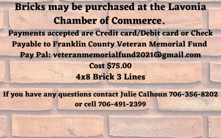 Support Our Veterans Bricks for Sale